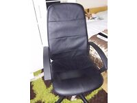 Black office chair for £8