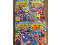 Moshi Monsters 4 book box set - books never been read.