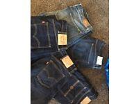 5 designer men's jeans