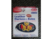 Baby Leather harness and reins