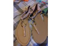 Brand new sandals size 6