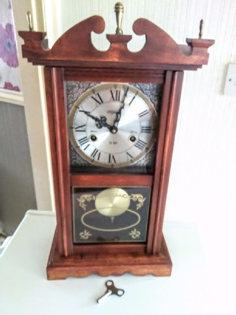 Wooden highlands 31 day pendulum clock in middlesbrough north wooden highlands 31 day pendulum clock amipublicfo Image collections