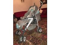 Silver cross pram with all accessories