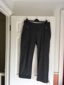 Ladies Rohan trousers & tops as new - all size 14