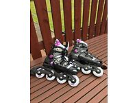 No fear girls in line skates - 2 pairs