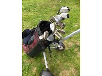 Regal full set of golf clubs