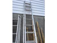 Light weight ladders