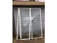 Shower Enclosure Glass door/Glass Panel with frame, Used