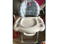 Fisher price easy fold high chair