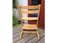 Stoke Trip Trap beech wood high chair