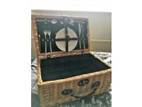 Small Wicker Basket for a couple never used.