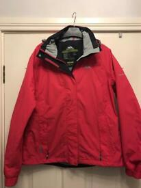 Ladies Trespass coat L
