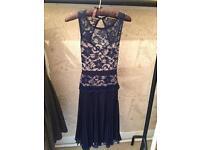 Lace navy dress size 8/10
