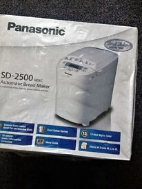 Brand New Panasonic Automatic Bread Maker SD2500 WXC