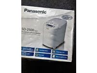Brand New Panasonic Automatic Bread Maker SD2500 WXC