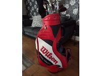 Full set wilson fat shaft golf clubs