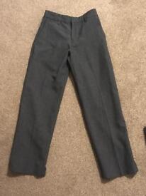 Boys Grey Trousers