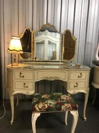 Vintage Louis style dressing table wow delivery poss