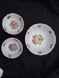 Friut Bowls set