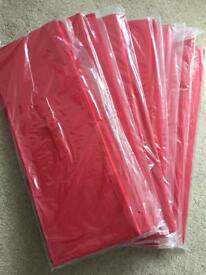 NEW***Large Red Canvas Box