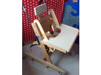 Breezi Chair Highchair with Accessories, nearly new