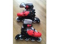 Children's inline skates: size 2-4