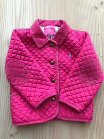 Joules girls coat/jacket 2-3 year