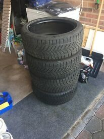 Lassa Winter tyres 205/50/R17/93H. Done less than 5k miles.