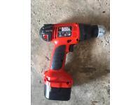 Black & Decker CD12C drill