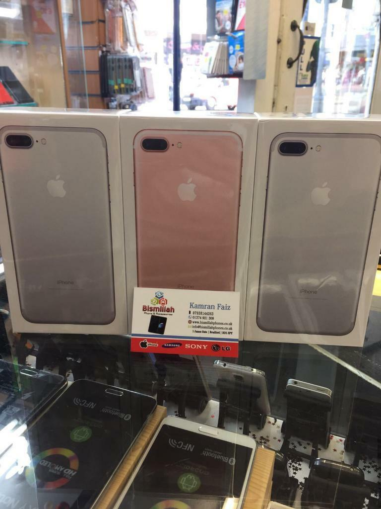 APPLE IPHONE 7 PLUS 32GB UNLOCKED BRAND NEW APPLE WARRANTYSHOP RECEIPTin Bradford, West YorkshireGumtree - APPLE IPHONE 7 PLUS 32GB UNLOCKED BRAND NEW APPLE WARRANTY & SHOP RECEIPT pick up fromBISMILLAH PHONES BD1 3JY BRADFORD TOWN CENTER Ph 1274921308FREE SCREEN PROTECTOR TEMPERED GLASS OR COVER opening time MONDAY TO SATURDAY 9 30 till 6SUNDAY 11 till...