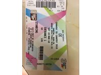 Country to country tickets for sale