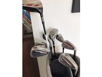 Taylor Made Burner Driver + Nike Ignite Irons 3H-9 for sale