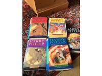 6 HARRY POTTER BOOKS