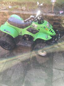 110cc quad forward reverse swap pit bike