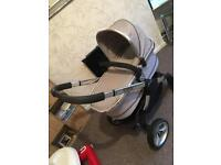 Icandy peach 2 travel system with car seat