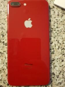 Brand New Red Iphone 8 plus 64 GB