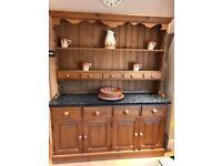 Welsh Dresser with granite top