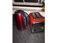 Black and Red Kitchen Accessories