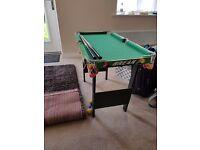 Kids snooker/pool table.