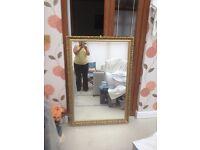 Gilt Mirror - Good Condition - £20