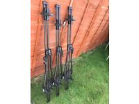 Halfords Advanced Roof Mounted Cycle Carriers X3