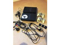 2 x Sony Playstation 2 (fat) – tested. With 2 controllers, 3 x 8MB memory cards & Guitar Hero 2 game