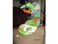 Fisher Price Rainforest Jungle Swing Chair