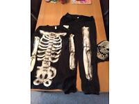 Adult Skeleton Halloween costume