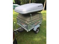 Camping trailer / roof box and bars