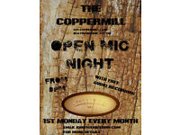 Open Mic with High Quality Audio Recording