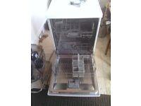 Bosch free standing dishwasher - white