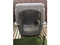 Large dog crate / kennel approved for air travel (Petmate)