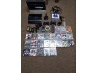 Huge set playstation 3 boxed with many games and accssories