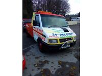 Iveco spec lift recovery truck for 3.5t